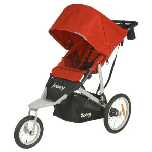 Joovy Zoom Swivel 360 Jogging Stroller